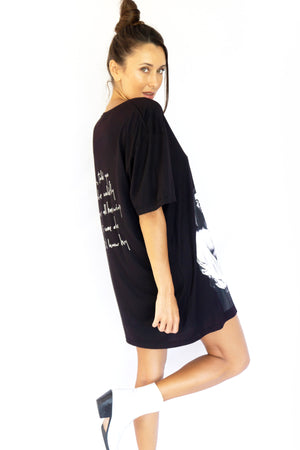 PRE-ORDER - 'HUTCH' MINI DRESS - BLACK - SAVE 15% TODAY ENTER CODE: 'HUTCH15' AT THE CHECKOUT