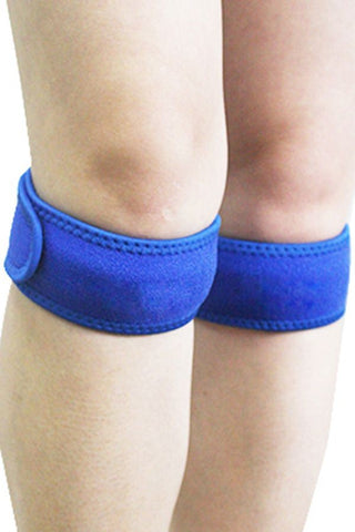 Blue Adjustable Patella Knee Strap