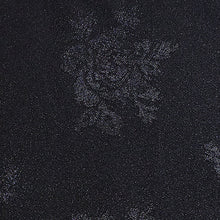 Load image into Gallery viewer, Cezanne Black Damask Rose Table Cloth