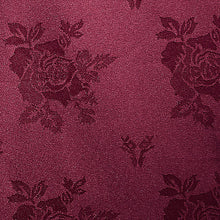 Load image into Gallery viewer, Cezanne Burgundy Damask Rose Table Cloth