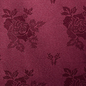Cezanne Burgundy Damask Rose Table Cloth