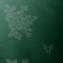 Load image into Gallery viewer, Cezanne Forest Green Damask Rose Table Cloth