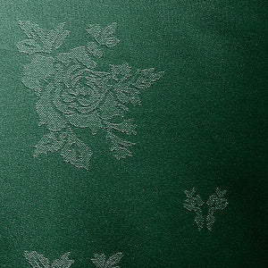 Cezanne Forest Green Damask Rose Table Cloth