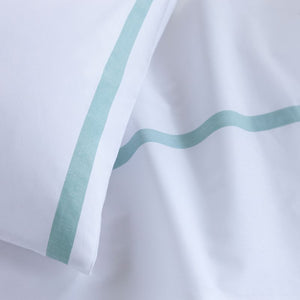 Healthcare Green Stripe Pillowcase