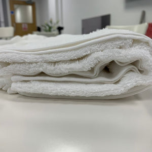 Lazio White Luxury 100% Cotton Towels