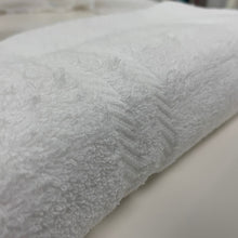 Load image into Gallery viewer, Lazio White Luxury 100% Cotton Towels