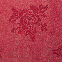 Load image into Gallery viewer, Cezanne Red Damask Rose Table Cloth