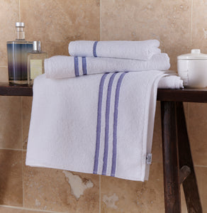 Stratus 100% Cotton Leisure Towels - Blue Header