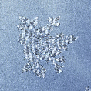 Cezanne Wedgewood Blue Damask Rose Table Cloth