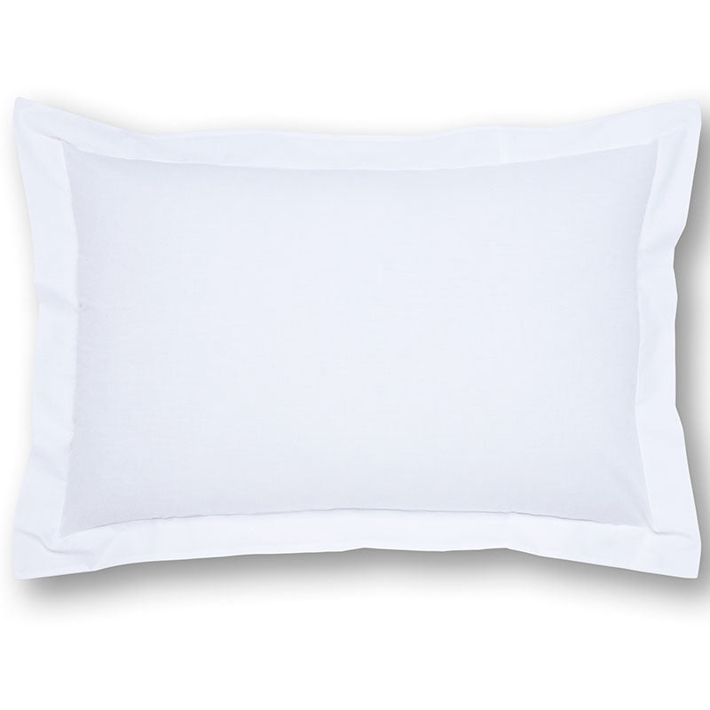 Pescara White 50/50 Polycotton Mock Oxford Pillowcase