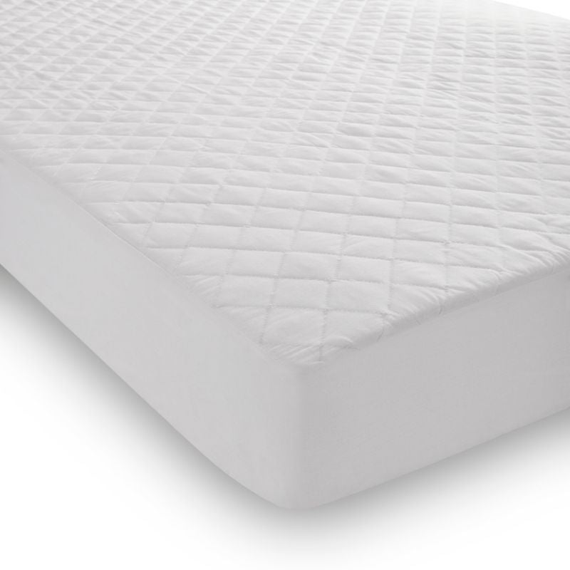 Quilted Polycotton Mattress Protector