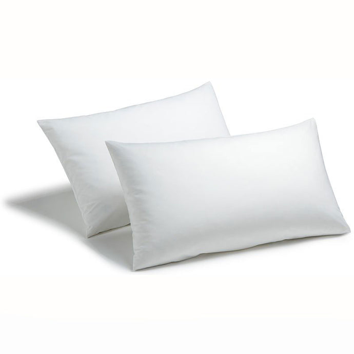 Pescara Plain White 50/50 Polycotton Hemless Bag Pillowcase - Pack of 25