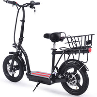 MotoTec Cruiser 48v 350w Lithium Electric Scooter Black - Noizylady