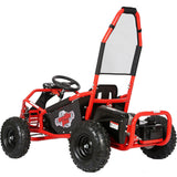 MotoTec Mud Monster Kids Electric 48v 1000w Go Kart Full Suspension