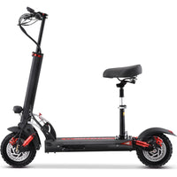 MotoTec Thor 60v 2400w Lithium Electric Scooter Black