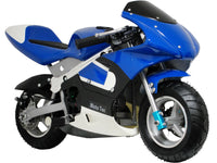 MotoTec Gas Pocket Bike 33cc 2-Stroke - Noizylady