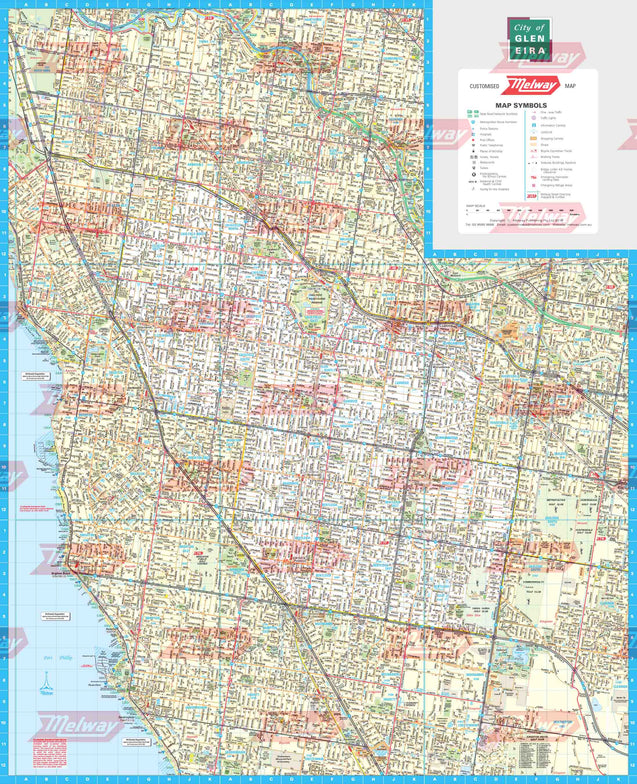 Melway Glen Eira Council WallMap