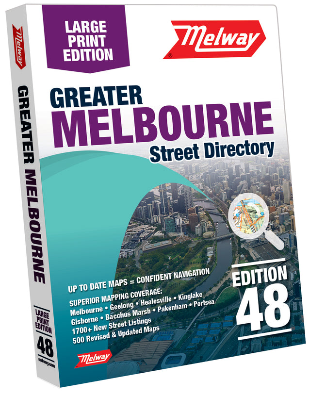 Melway 2021 Large Print Street Directory - Edition 48