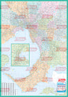 Melway Municipal WallMap - Rolled & Laminated
