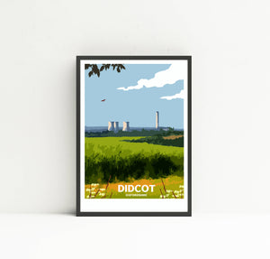 Didcot Power Station print