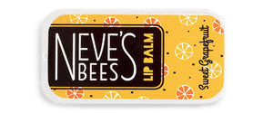 Neve's Bees - Beeswax Lip Balm - Sweet Grapefruit - Cute Little Slider Tin - 7g