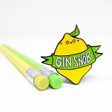 Load image into Gallery viewer, Gin Snob Pin Badge