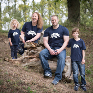 Mummy, Daddy, Sister and Brother Bear T-shirts