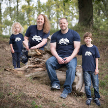 Load image into Gallery viewer, Mummy, Daddy, Sister and Brother Bear T-shirts