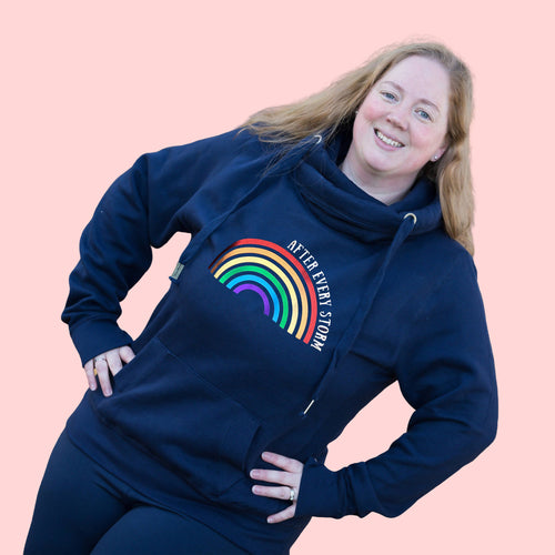 After Every Storm Rainbow Adult Hoodie