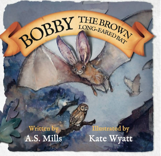 Bobby the Brown Long-eared Bat Children's book
