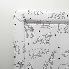 Load image into Gallery viewer, Deluxe Baby Changing Mat Animals
