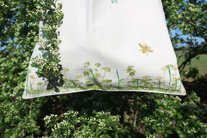 Wildflower & Foilage Organic Cotton Tote Bag