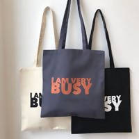 Load image into Gallery viewer, I AM VERY BUSY Tote Bag