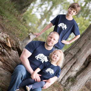 Little, Big & Daddy Bear T-shirts