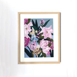 A3 Wildflower Art Print