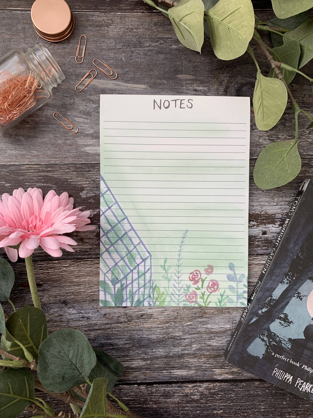 Botanical notepad