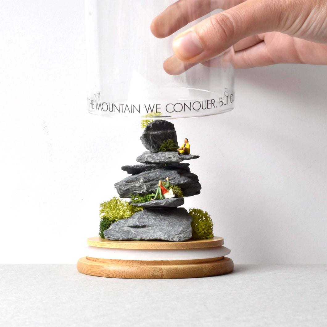 Quirky Glass Jar Art