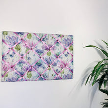 Load image into Gallery viewer, Voyage Maison noticeboard - Lilac Thistles