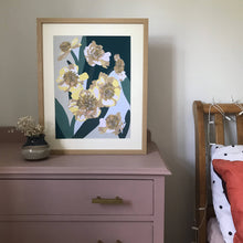Load image into Gallery viewer, A3 Flower Art Print