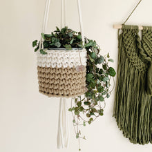 Load image into Gallery viewer, Crochet plant hanger