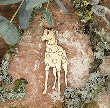 Load image into Gallery viewer, Dog Brooch - Whippet