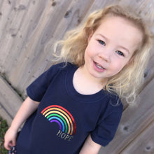 Load image into Gallery viewer, Rainbow of Hope T-shirt