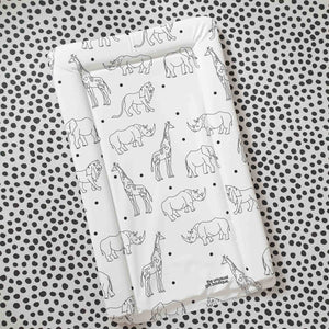 Deluxe Baby Changing Mat Animals