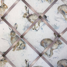 Load image into Gallery viewer, Voyage Maison noticeboard - Grey Running Hares