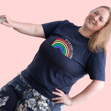 Load image into Gallery viewer, After Every Storm Rainbow T-shirt for adults