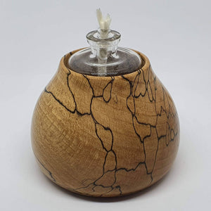 Spalted Beech Oil Lamp