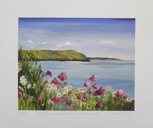 Woolacombe - from the white house - Print