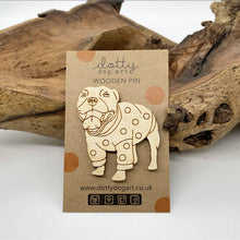 Load image into Gallery viewer, Dog Brooch - Staffy