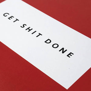 Get S**T Done Notebook