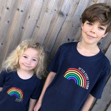 Load image into Gallery viewer, Rainbow of Hope and After Every Storm T-shirts